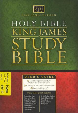 Holy Bible; King James Version Study Bible