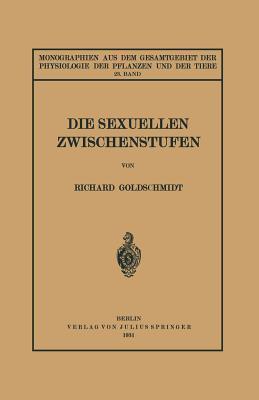 Die Sexuellen Zwischenstufen: 23. Band