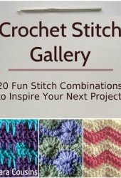 Crochet Stitch Gallery: 20 Fun Stitch Combinations to Inspire Your Next Project Book Pdf