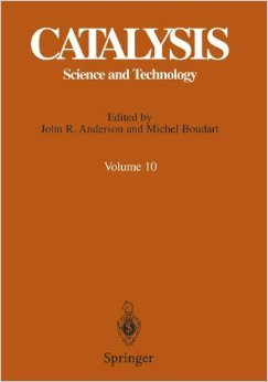 Catalysis: Science and Technology, Vol. 10