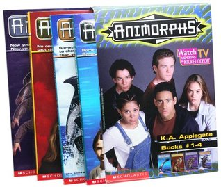 Animorphs Box Set: The Invasion / The Visitor / The Encounter / The Message (Animorphs, #1-4)