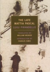 The Late Mattia Pascal Pdf Book