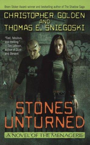 Stones Unturned (The Menagerie, #3)