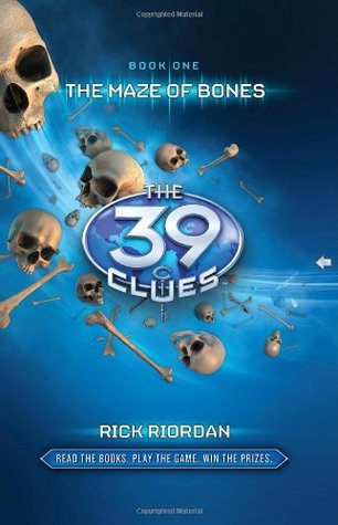 The 39 Clues Books 1-5: The Maze of Bones / One False Note / The Sword Thief / Beyond the Grave / The Black Circle