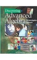 Discovering Advanced Algebra: An Investigative Approach