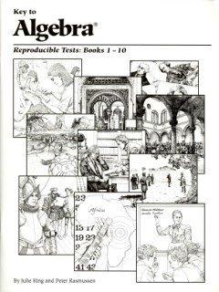 Key To Algebra: Reproducible Tests, Books 1-10