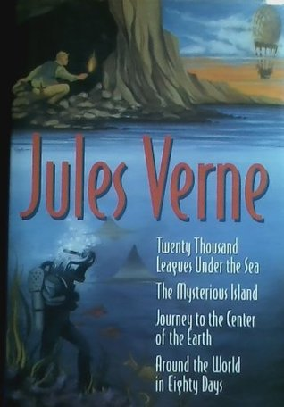 Twenty Thousand Leagues Under the Sea / The Mysterious Island / Journey to the Centre of the Earth / Around the World in Eighty Days