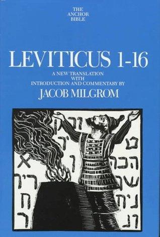 Levitucus 1-16