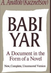 Babi Yar: A Document in the Form of a Novel Pdf Book