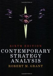 Contemporary Strategy Analysis Pdf Book