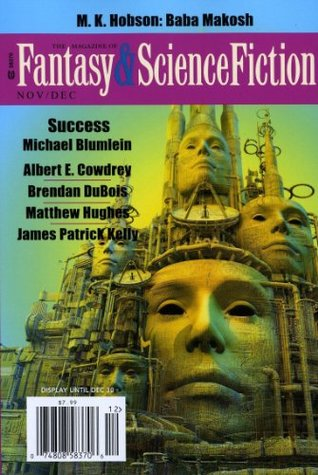 The Magazine of Fantasy & Science Fiction November/December 2013