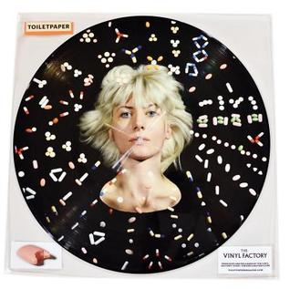 Toilet Paper: I Always Remember a Face, Especially When I've Sat on It: A Vinyl Record Compiled by Maurizio Cattelan