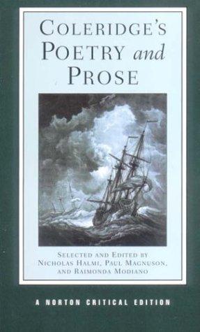 Coleridge's Poetry and Prose