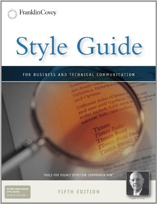 Style Guide: For Business and Technical Communication
