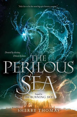 #Printcess review of The Perilous Sea by Sherry Thomas