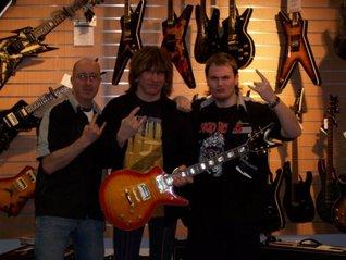 Guitar Shop Store Start Up Sample Business Plan!