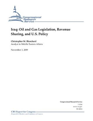 Iraq: Oil and Gas Legislation, Revenue Sharing, and U.S. Policy