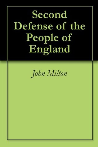 Second Defense of the People of England