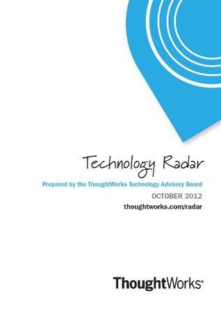 Technology Radar - October 2012