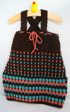 Crochet pattern baby to toddler dress