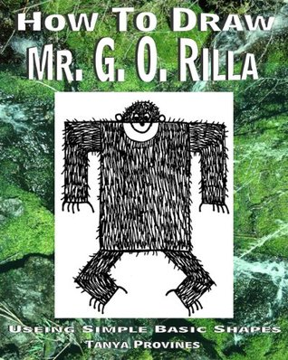 How To Draw Mr. G. O. Rilla Using Simple Basic Shapes