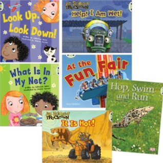 Learn at Home:Learn to Read at Home with Bug Club: Pink Pack Featuring Trucktown (Pack of 6 Reading Books with 4 Fiction and 2 Non-fiction)
