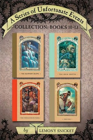 A Series of Unfortunate Events Collection: Books 10-13 (A Series of Unfortunate Events Boxset)