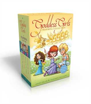 The Goddess Girls Charming Collection Books 9-12 (Charm Bracelet Included!): Pandora the Curious; Pheme the Gossip; Persephone the Daring; Cassandra the Lucky