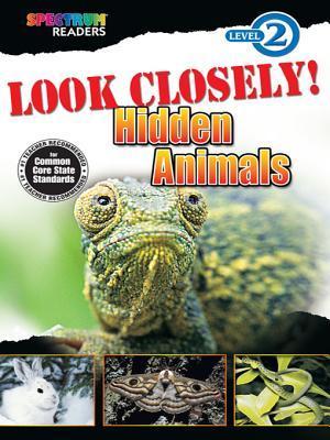 Look Closely! Hidden Animals: Level 2
