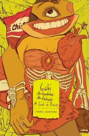 Gabi, A Girl in Pieces book cover