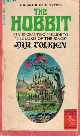 J.R.R. Tolkien, The Hobbit First Printing August 1965 with Lion