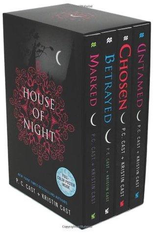 Marked / Betrayed / Chosen / Untamed (House of Night, #1-4)