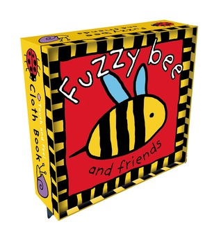 Fuzzy Bee Cloth Book