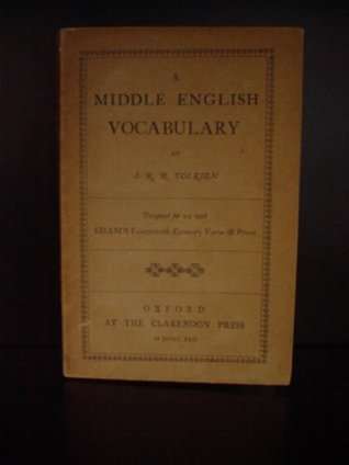 Lord of The Rings Trilogy A Middle English Vocabulary. First Edition. Rare and Original