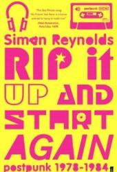 Rip it Up and Start Again Book