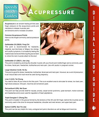 Acupressure (Speedy Study Guides)