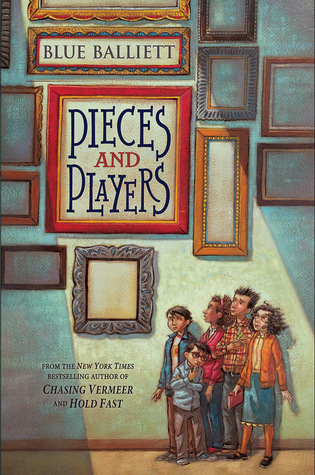 Pieces and Players (Chasing Vermeer, #4)