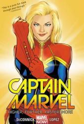 Captain Marvel, Volume 1: Higher, Further, Faster, More Book Pdf
