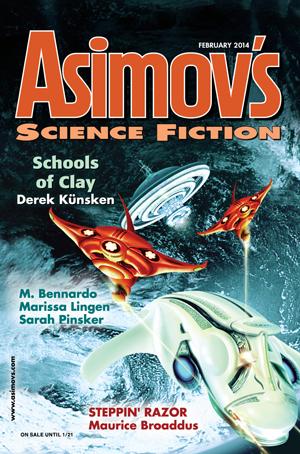 Asimov's Science Fiction, February 2014
