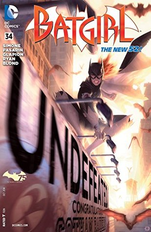 Batgirl #34 (The New 52 Batgirl, #34)