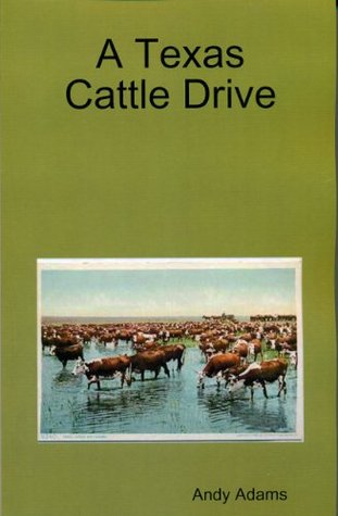 A Texas Cattle Drive - illustrated