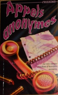 Appels anonymes (Frissons, #42)