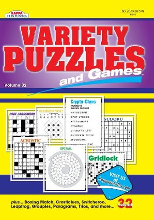 Variety Puzzles and Games-Vol.32