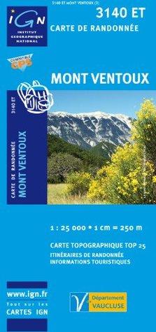 Mont Ventoux gps: IGN.3140ET