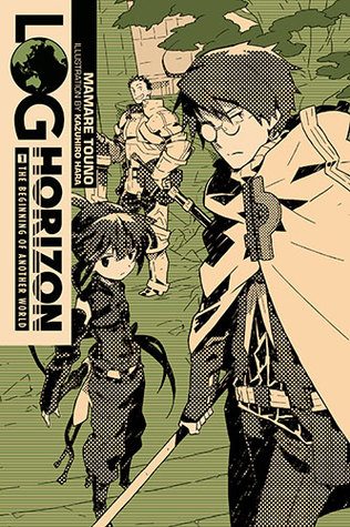 Log Horizon, Vol. 1: The Beginning of Another World Book Cover