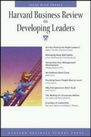 Harvard Business Review on Developing Leaders
