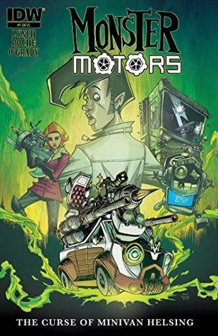 Monster Motors: The Curse of Minivan Helsing #1