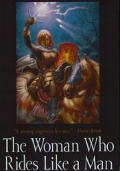 The Woman Who Rides Like a Man (Song of the Lioness, #3) Pdf Book