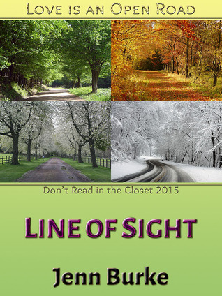 Book Cover Line of Sight by Jenn Burke