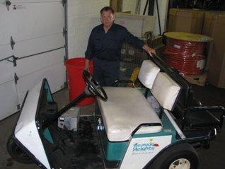 Golf Cart Repair Service Start Up Business Plan NEW!